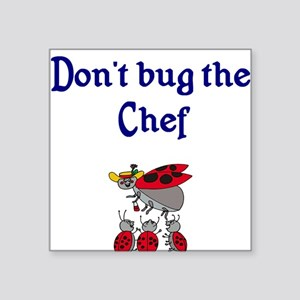 Chef Ladybugs Square Sticker